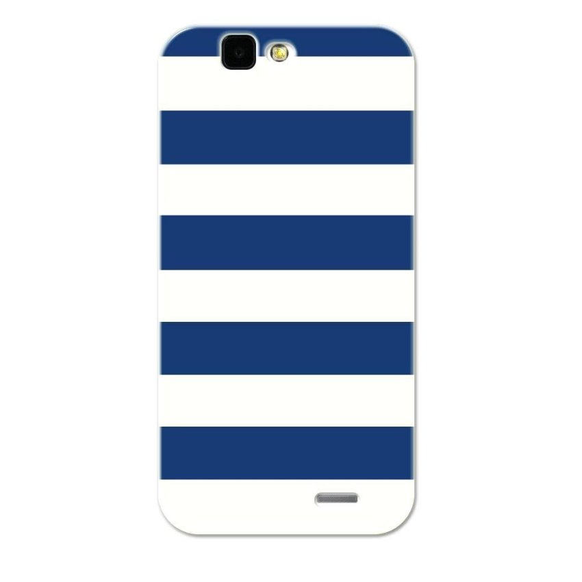 PC Plastic Case for Huawei G7 navy and white