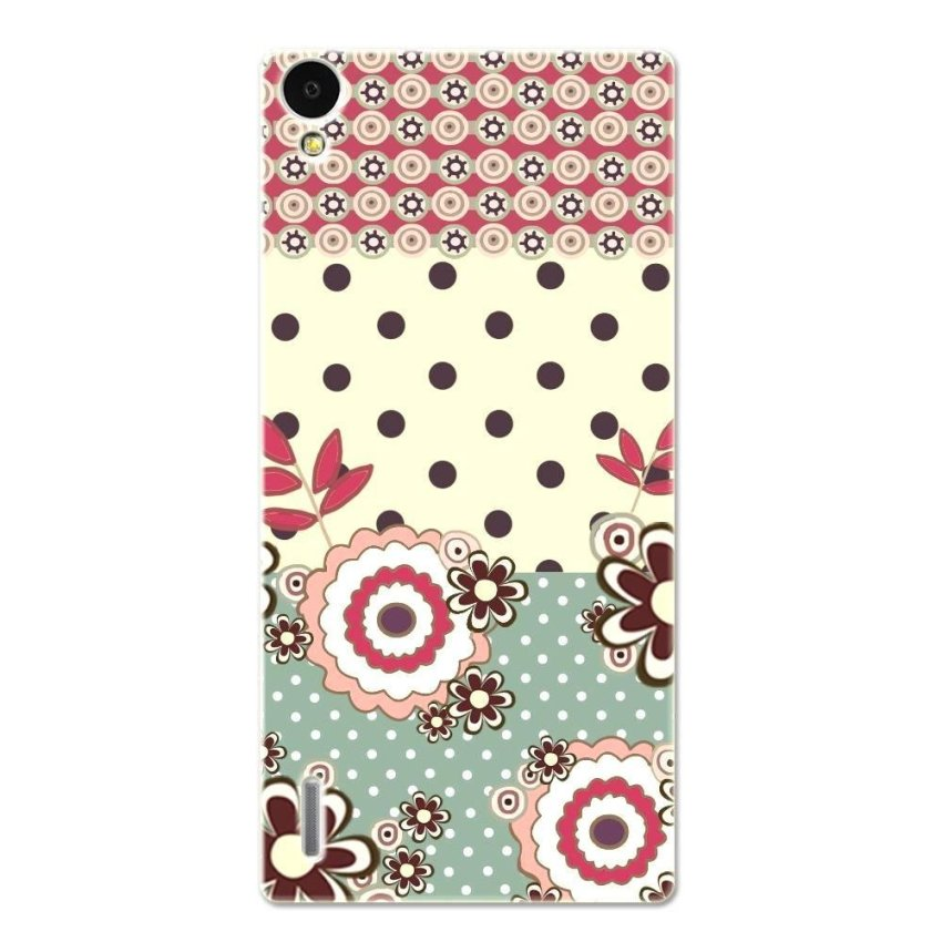 PC Plastic Case for Huawei P7 multicolor