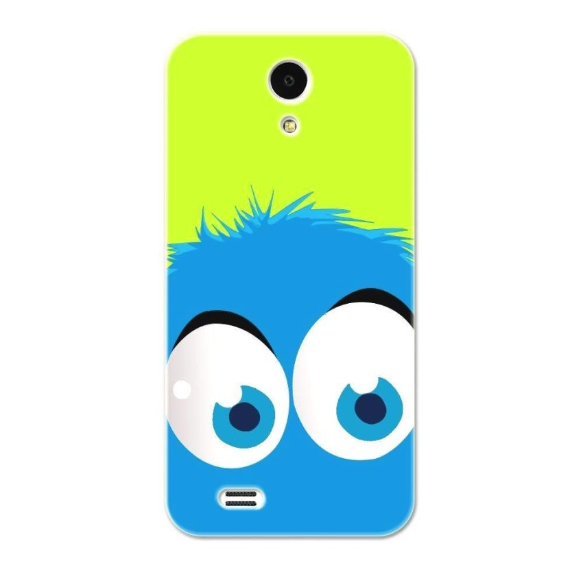 PC Plastic Case for Lenovo S820 S820e green and blue