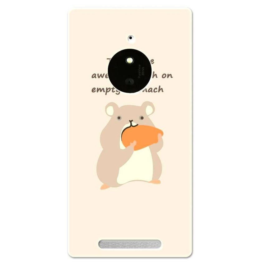 PC Plastic Case for Nokia Lumia 830 peach