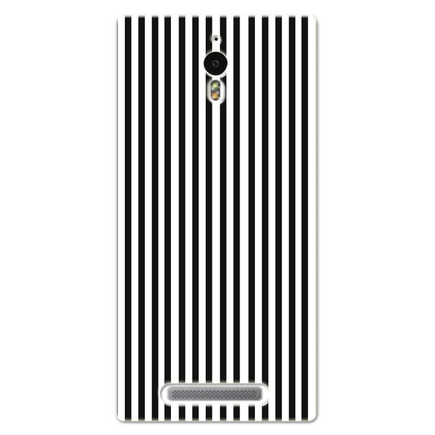 PC Plastic Case for OPPO FIND7 black-and-white