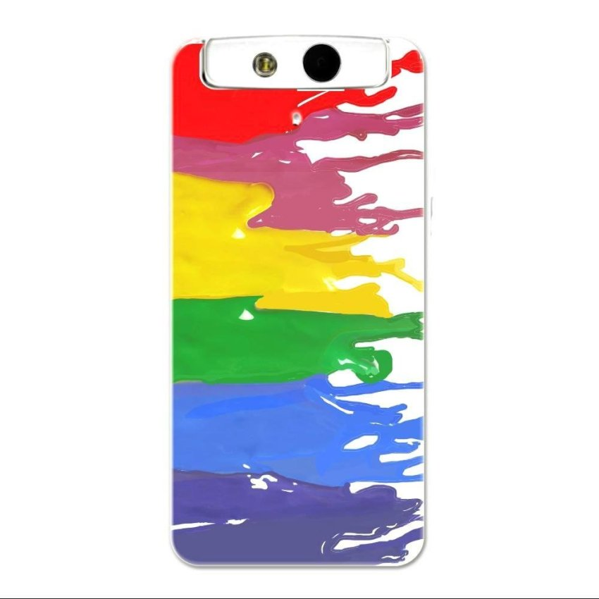 PC Plastic Case for OPPO N1 mini multicolor