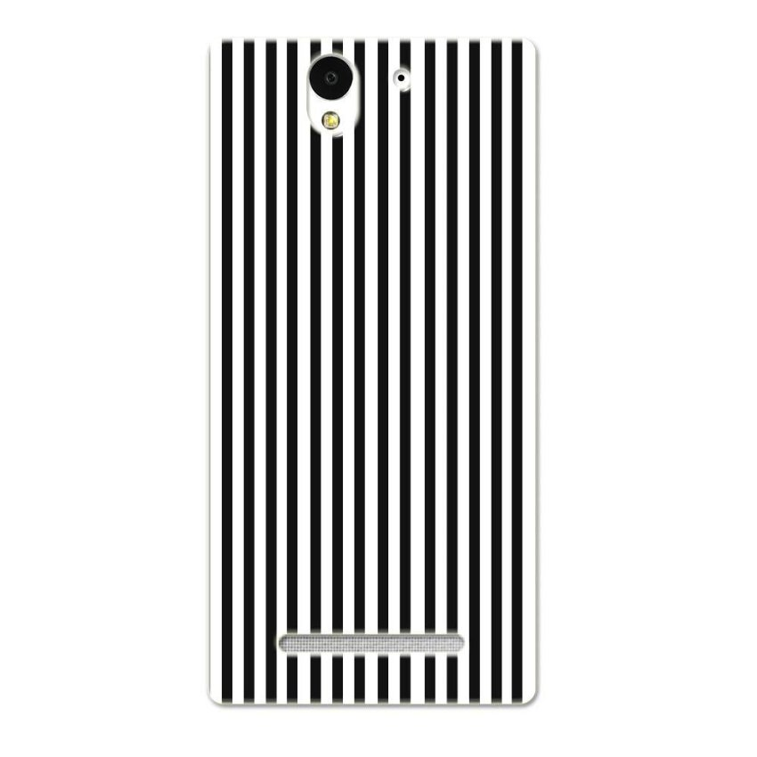 PC Plastic Case for Sony Xperia C3 black-and-white