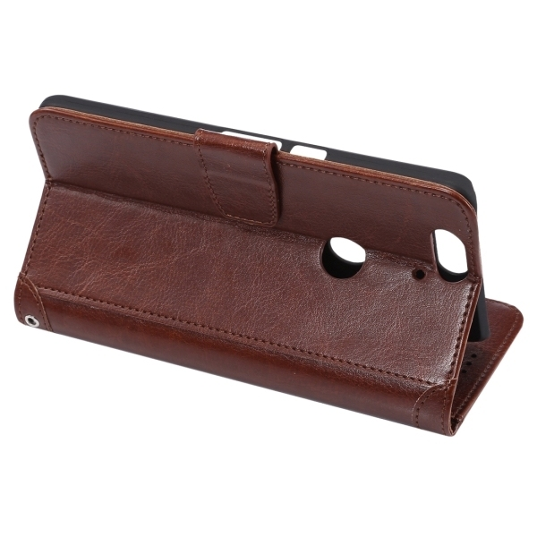 PC PU Flip Leather Horizontal Cover with Card Slots Wallet Holder for Google Nexus 6P (Brown) (Intl)
