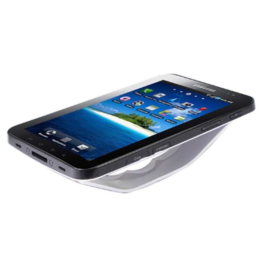 Phone Holder for Samsung Galaxy Tab 7 / P1000 / 7 inch Tablet PC - Silver