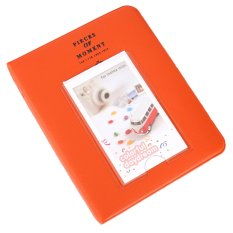 Photo Album Case For Fujifilm Instax Camera (64 Pocket Orange) - Intl