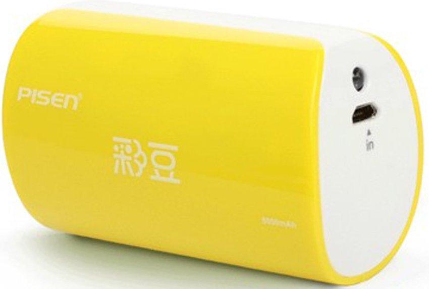 Pisen Funny 5000mAh - Kuning