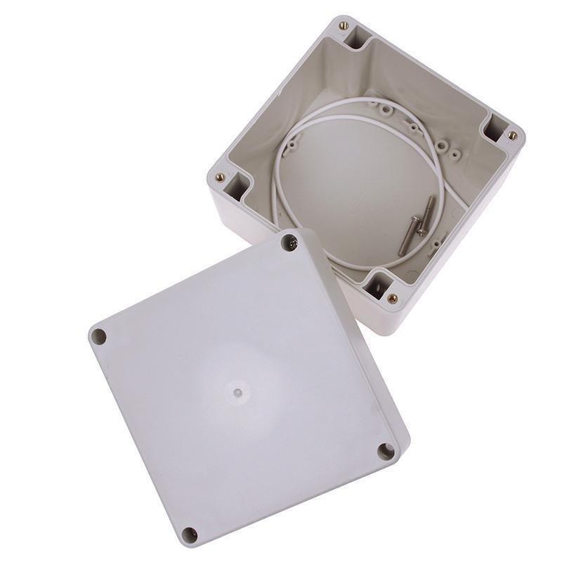 Plastic Electronics Project Box Enclosure Instrument Case DIY With Screws