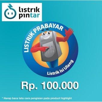 Pln Pulsa Listrik Token 100 000 Pln Token Prabayar Rp 100 000 Lazada .