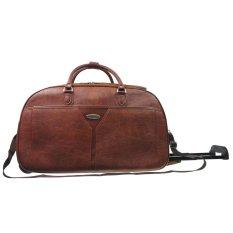"Polo Classic 0014-5 Travel Bag Trolley 21"" - Coffee"