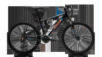 Polygon Sepeda Anak Rayz 24 - Hitam - Gratis Ongkir