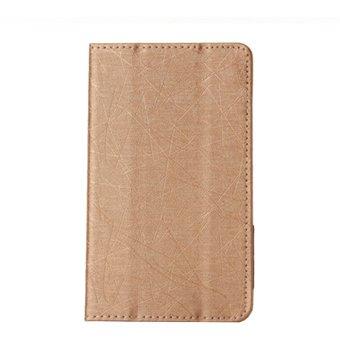 PopSky Silk Pattern PU Leather Flip Multi Angle Stand Case Cover for Lenovo .