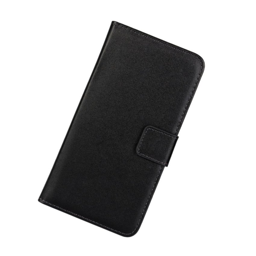 PopSky Wallet Case civer for Sony Xperia Z3(Black)