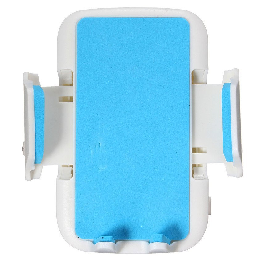 Porta Cellulare Supporto Da Auto CD Slot Staffa Holder Per Smartphone GPS MP3 White/Blue (Intl)
