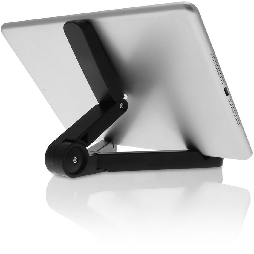 Portable Android Tablet Holder Fold-up Stand for iPad Kindle Fire Galaxy Tab 7 - 10 inch Tablet PC (Intl)