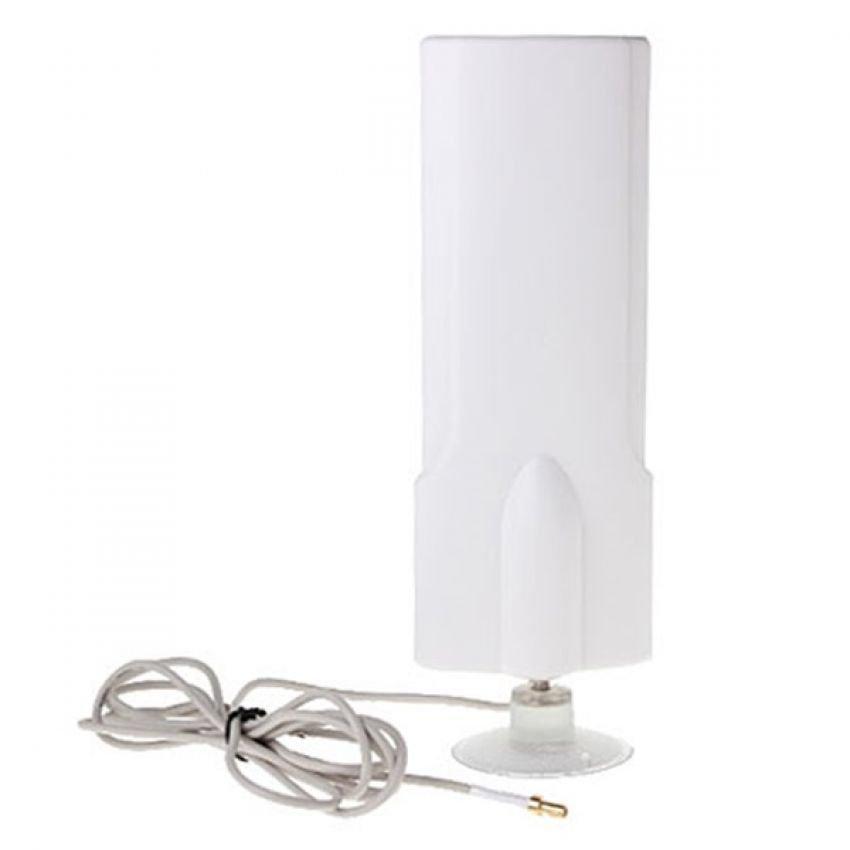 Portable Antena 25dBi Modem ZTE MF70 High Gain 3G 4G LTE FDD TDD W-Max 425 Maximal - Putih