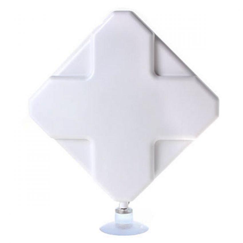 Portable Antena 35dBi modem 3G 4G LTE FDD TDD W-Max 435 Untuk Modem Sierra 320U - Putih