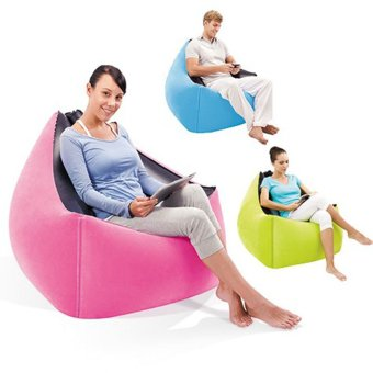 Portable living room furniture lazy inflatable sofa chair for Portable living room furniture