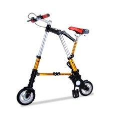 Promo Sepeda Lipat Super Kecil - Gold