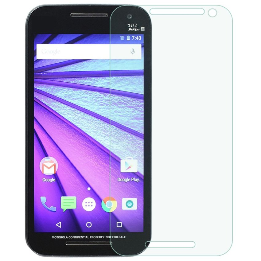Protective Matte Screen Protector for Moto G 3rd Gen - (Transparent) (Intl)