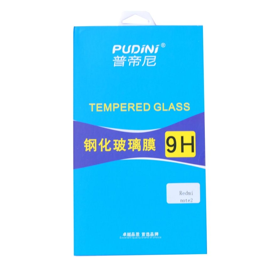 "Pudini Xiaomi Redmi Note 2 / Prime 5.5"" Tempered Glass Screen Protector"