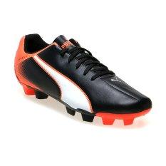 Puma Adreno FG Sepatu Bola - Hitam-Putih-Lava