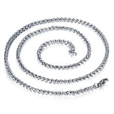 Queen Korea 316L Titanium Steel Women / Men / Unisex Necklace Jewelry Wholesale (Silver) &#8211.3 Mm X 500 Mm