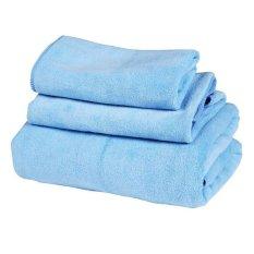 QuincyLabel Quick Dry Towel - Biru