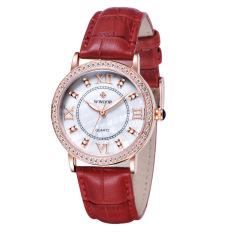 Quzhuo Genuine Swiss Watch Brand Watches Are Non Mechanical Belt Diamond Watches Wholesale Watch Korea