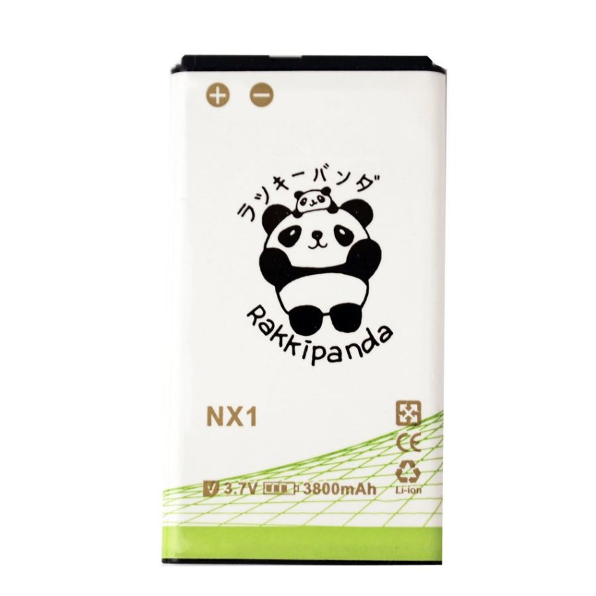 Rakkipanda Baterai Doubel Power Blackberry Q10 NX 3800mAh