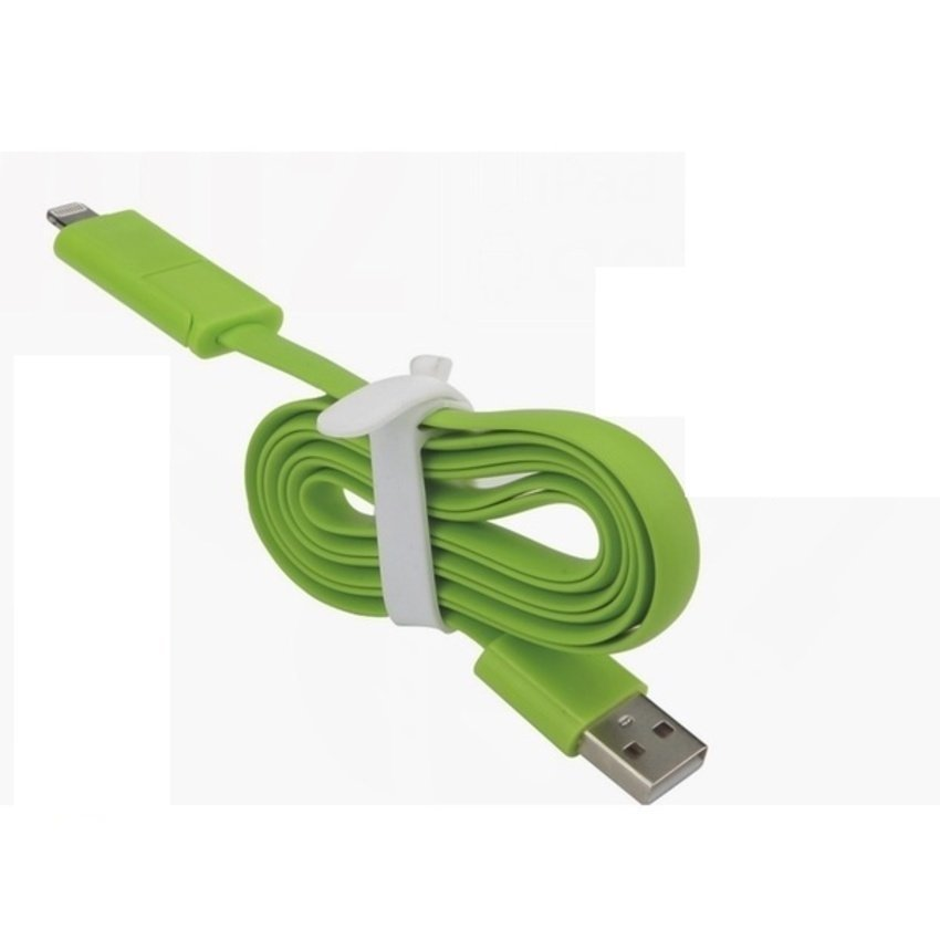 Random House  - Cable 2 in 1 Compatible for Apple & All Android Lightning & Micro USB