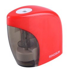 Red Electric Battery Switch Pencil Sharpener For Office Students Desktop Gift (Intl)