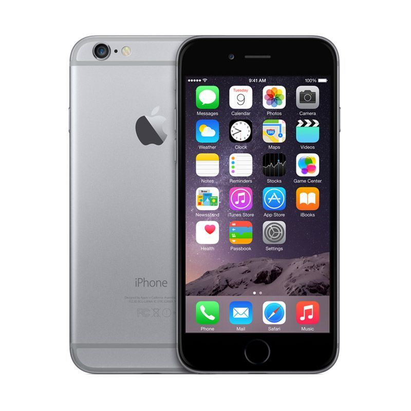 Refurbish Apple iPhone 6 - 16 GB - Space Gray - Grade A