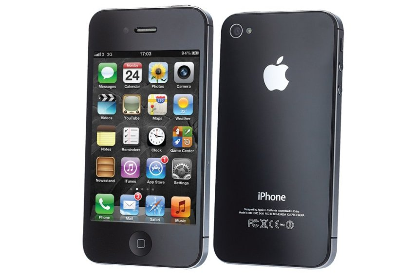 Refurbished Apple iPhone 4s - 16GB - Hitam