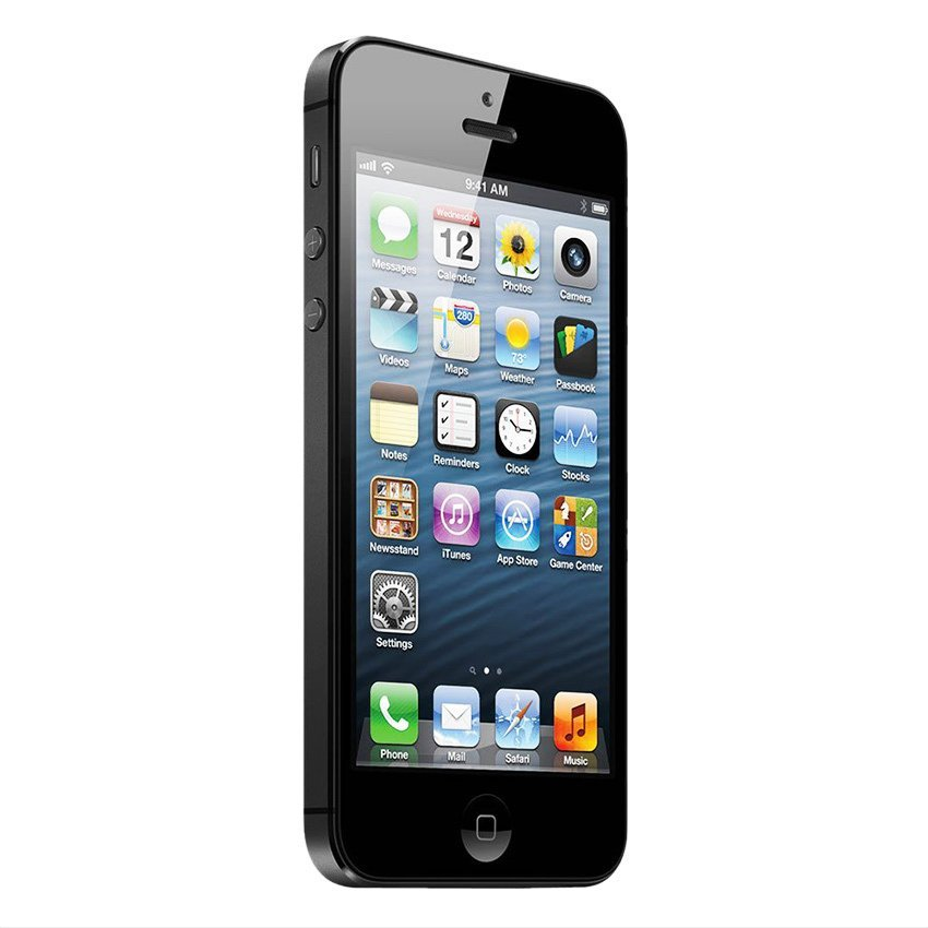 Refurbished - Apple iPhone 5 - 16GB - Hitam - Grade A