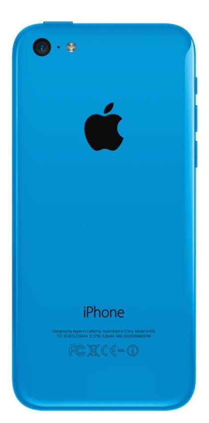 Refurbished Apple iPhone 5C - 16GB - Biru - Grade A
