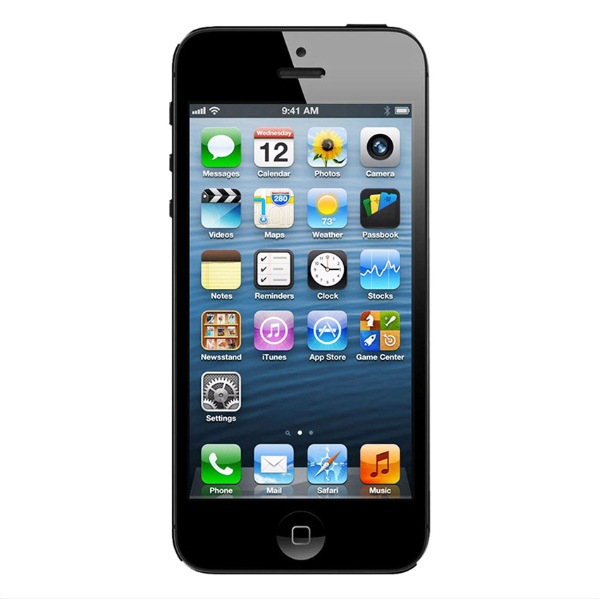 Refurbished Apple Iphone 5s - 32GB - Hitam - Grade A
