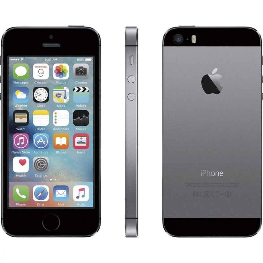Refurbished Apple iPhone 5S - 64GB - Abu-abu