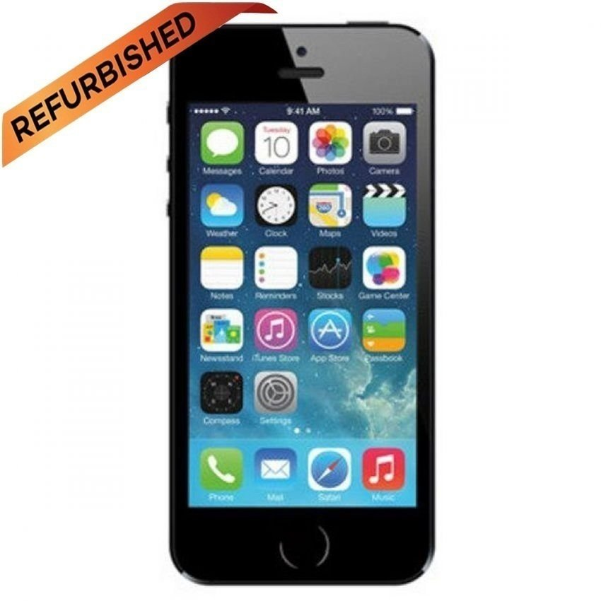 Refurbished Apple iPhone 5S - 64GB - Hitam - Grade A