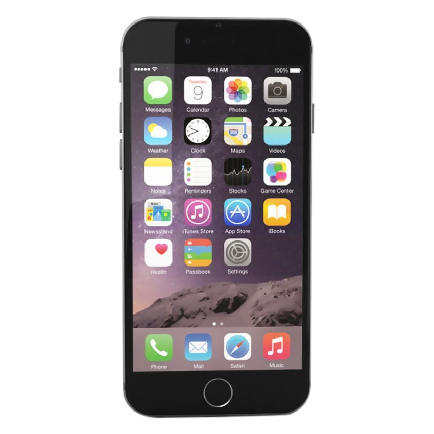 Refurbished Apple Iphone 6 - 64GB - Hitam - Grade A