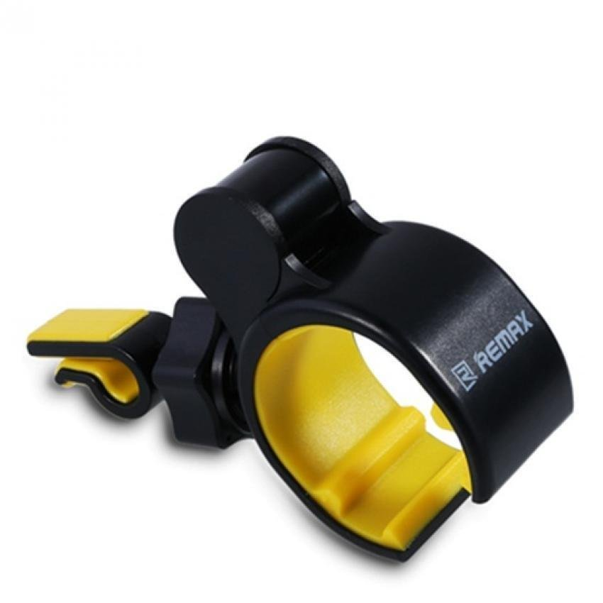 Remax Air Vent Smartphone Holder - RM-C05 - Hitam/Kuning