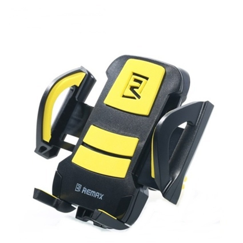 Remax Air Vent Smartphone Holder - RM-C13 - Hitam/Kuning