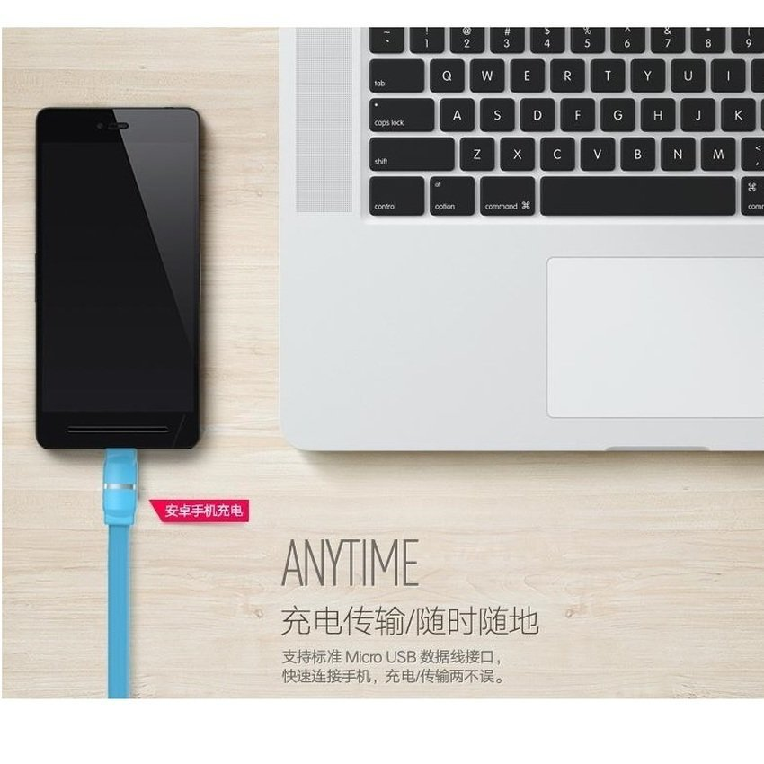 Remax Breathe Lightning Series Data Cable For IPhone,IPad - Putih