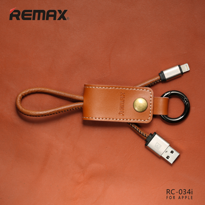 Remax Cable Iphone 5/5s/Iphone 6 Western Fast Charge RC- 034i - Cokelat