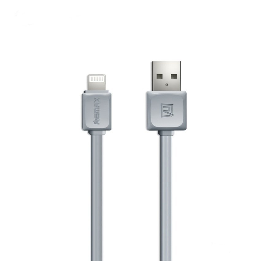Remax Fleet Speed Lightning Cable for iPhone 6/6+/5/5s - Gray