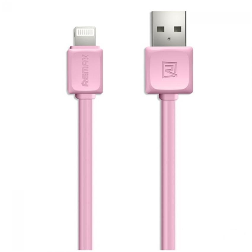 Remax Fleet Speed Lightning Cable for iPhone 6/6+/5/5s - Pink