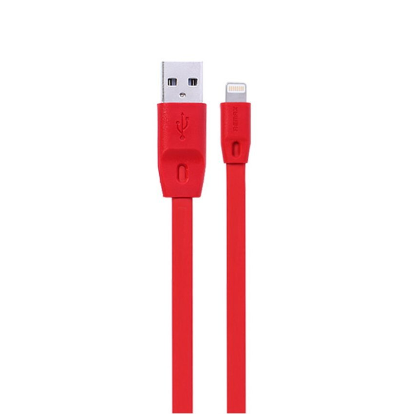 Remax Full Speed Cable iPhone 5/6 iPad Mini / Air Apple Lightning Kabel Data - Merah