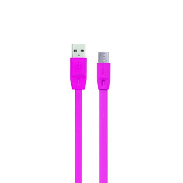 Remax Full Speed Cable Micro USB 2 Meter - Kabel Data Charge - Ungu