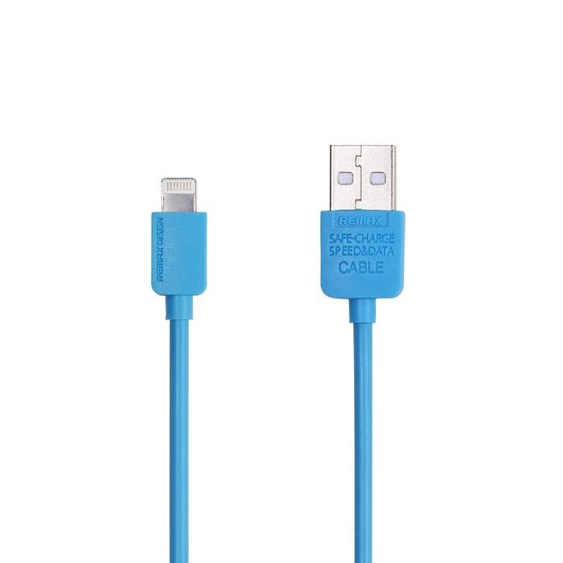 Remax Light Speed Lightning Cable 1m for iPhone 6/6+/5/5s - Blue