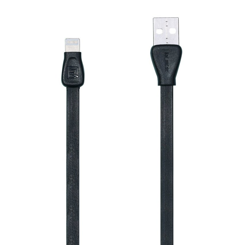 Remax Martin Data Cable RC028i iPhone 5/6 iPad Mini Apple Lightning Kabel Data - Black